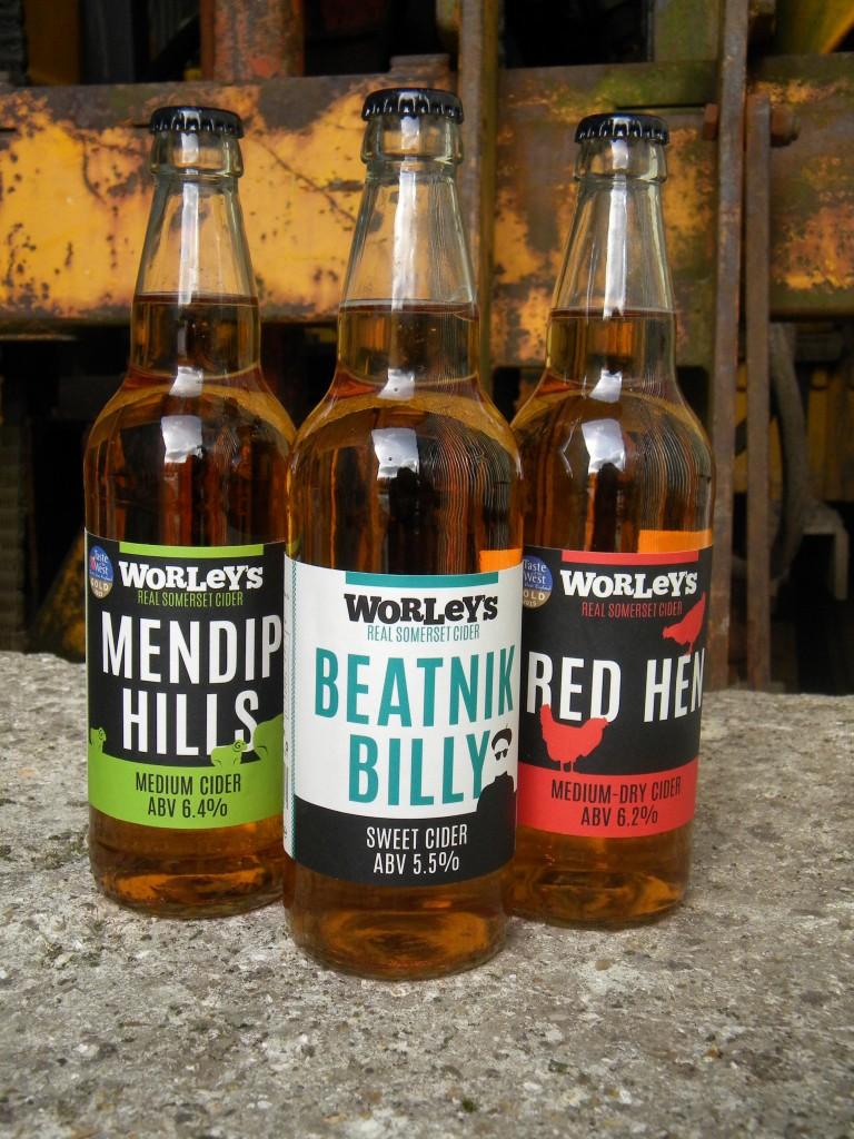 Our 50cl range of sparkling bottles – Medium-Dry, Medium and Sweet