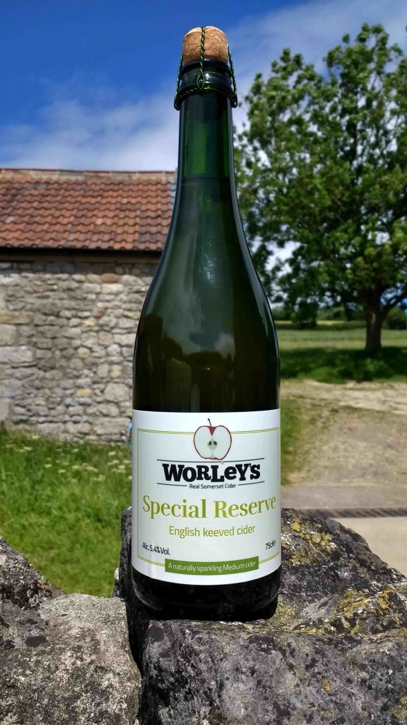 Two-star award-winning cider! Available in the UK and in the USA. Best drunk well-chilled on a sunny evening. A dish of olives, charcuterie and good cheese alongside.