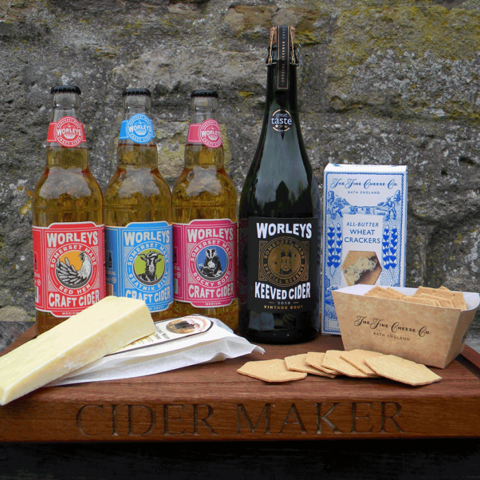Taste of Somerset Cider & Cheese Gift Pack